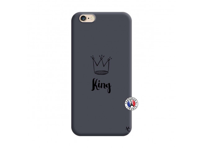 Coque iPhone 6/6S King Silicone Navy