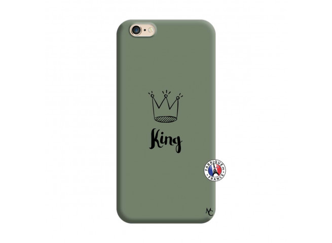 Coque iPhone 6/6S King Silicone Vert