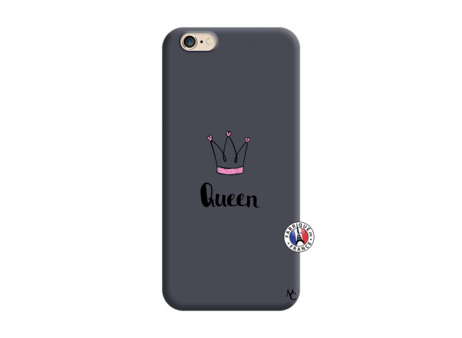 Coque iPhone 6/6S Queen Silicone Navy