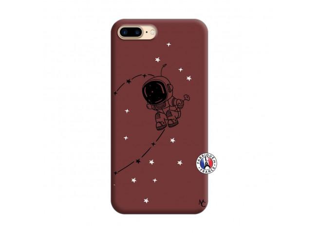 Coque iPhone 7 Plus/8 Plus Astro Boy Silicone Bordeaux