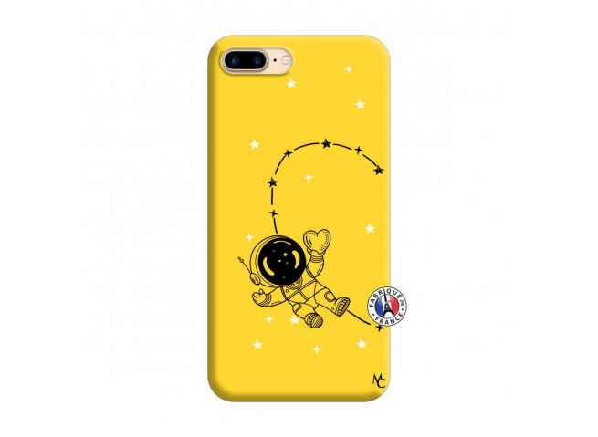 Coque iPhone 7 Plus/8 Plus Astro Girl Silicone Jaune