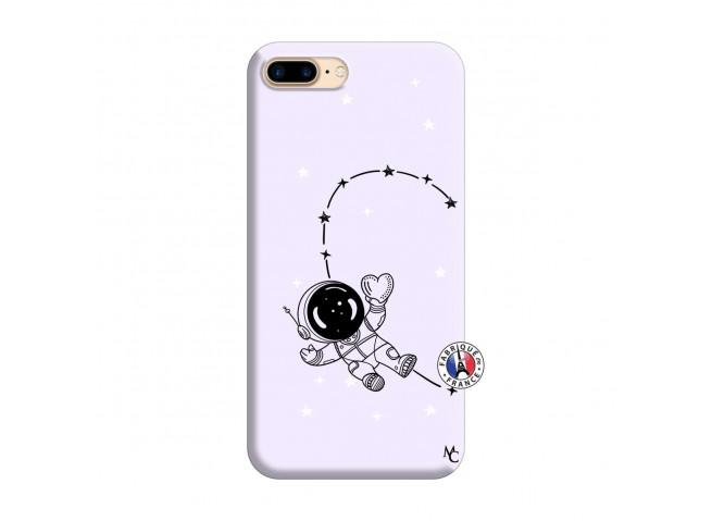 Coque iPhone 7 Plus/8 Plus Astro Girl Silicone Lilas
