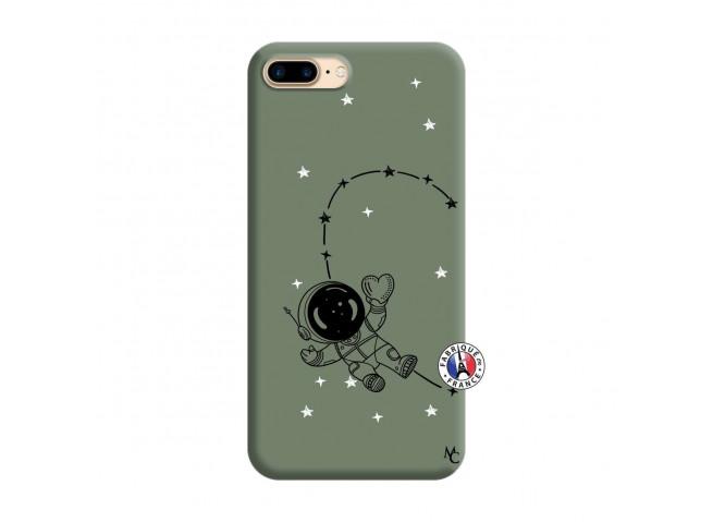 Coque iPhone 7 Plus/8 Plus Astro Girl Silicone Vert