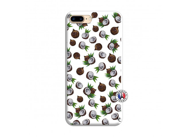 Coque iPhone 7 Plus/8 Plus Coco Silicone Blanc