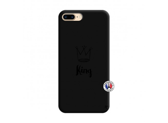 Coque iPhone 7 Plus/8 Plus King Silicone Noir