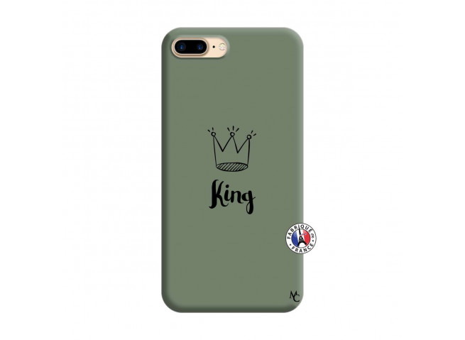 Coque iPhone 7 Plus/8 Plus King Silicone Vert