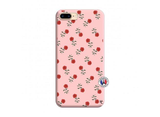 Coque iPhone 7 Plus/8 Plus Rose Pattern Silicone Rose