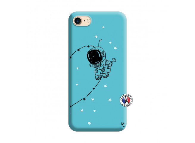 Coque iPhone 7/8 Astro Boy Silicone Bleu
