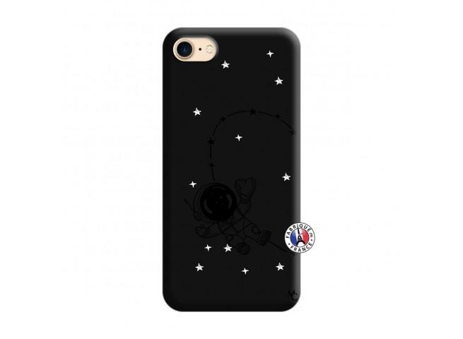 Coque iPhone 7/8 Astro Girl Silicone Noir