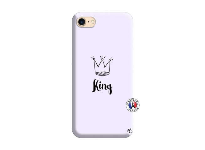 Coque iPhone 7/8 King Silicone Lilas
