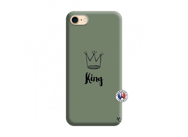 Coque iPhone 7/8 King Silicone Vert