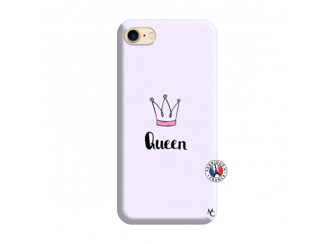 Coque iPhone 7/8 Queen Silicone Lilas