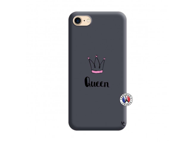 Coque iPhone 7/8 Queen Silicone Navy