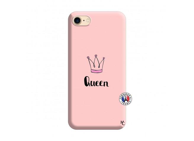 Coque iPhone 7/8 Queen Silicone Rose