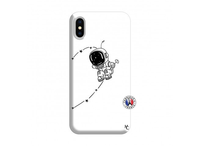 Coque iPhone X/XS Astro Boy Silicone Blanc