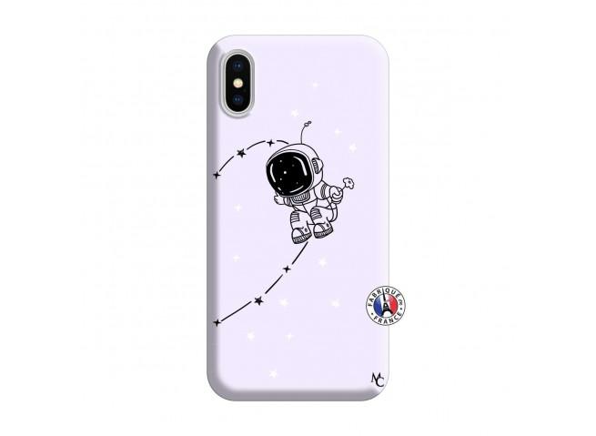 Coque iPhone X/XS Astro Boy Silicone Lilas