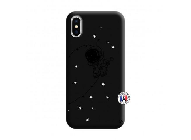 Coque iPhone X/XS Astro Boy Silicone Noir