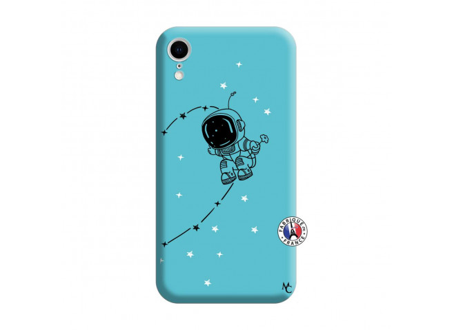 Coque iPhone XR Astro Boy Silicone Bleu