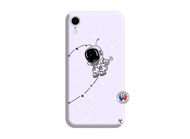 Coque iPhone XR Astro Boy Silicone Lilas