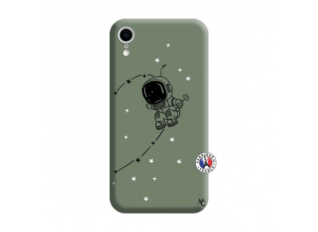 Coque iPhone XR Astro Boy Silicone Vert
