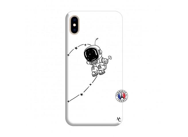 Coque iPhone XS MAX Astro Boy Silicone Blanc
