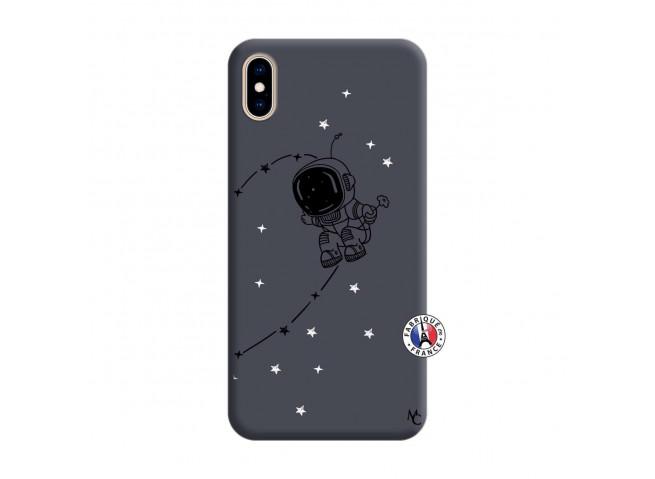 Coque iPhone XS MAX Astro Boy Silicone Navy