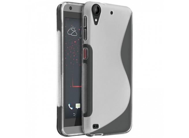 Coque HTC Desire 530 Silicone Grip-Translucide
