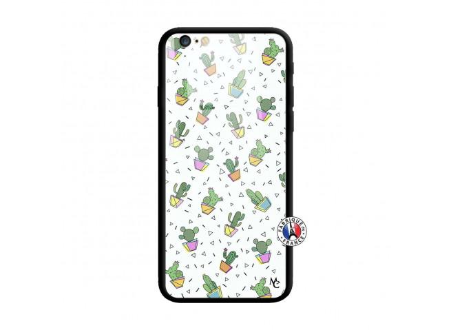 Coque iPhone 6 Plus/6s Plus Le Monde Entier est un Cactus Verre Trempe