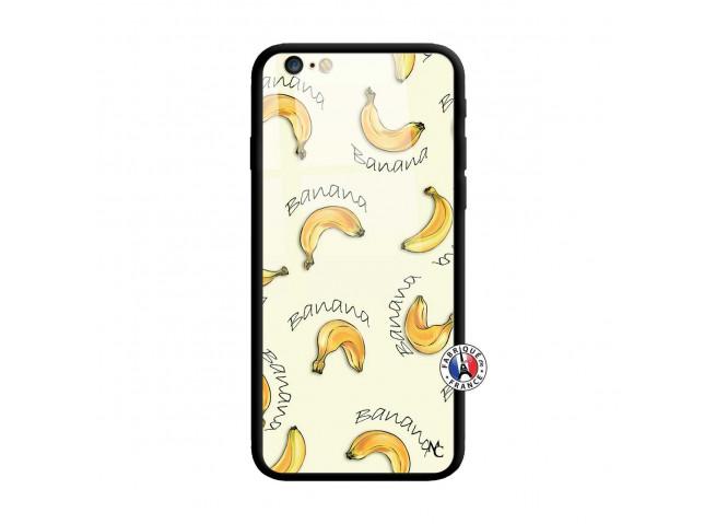 Coque iPhone 6 Plus/6s Plus Sorbet Banana Split Verre