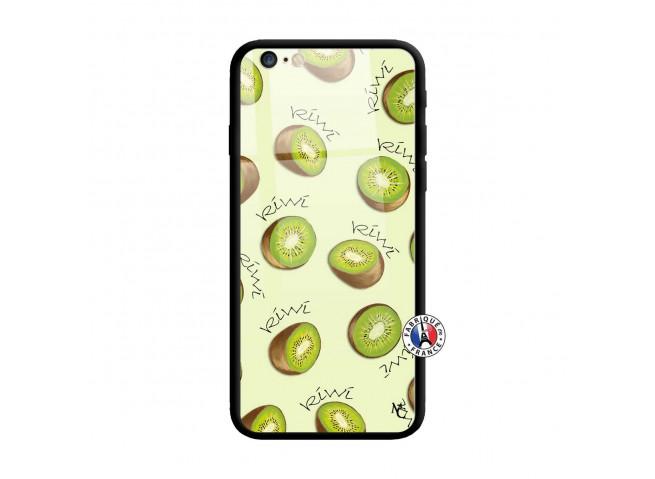 Coque iPhone 6 Plus/6s Plus Sorbet Kiwi Verre