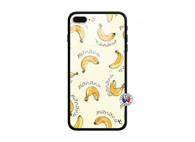 Coque iPhone 7 Plus/8 Plus Sorbet Banana Split Verre