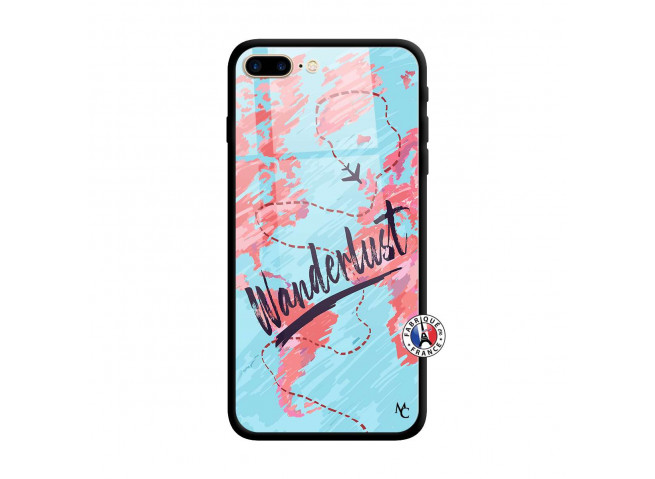 Coque iPhone 7 Plus/8 Plus Wanderlust Verre Trempe