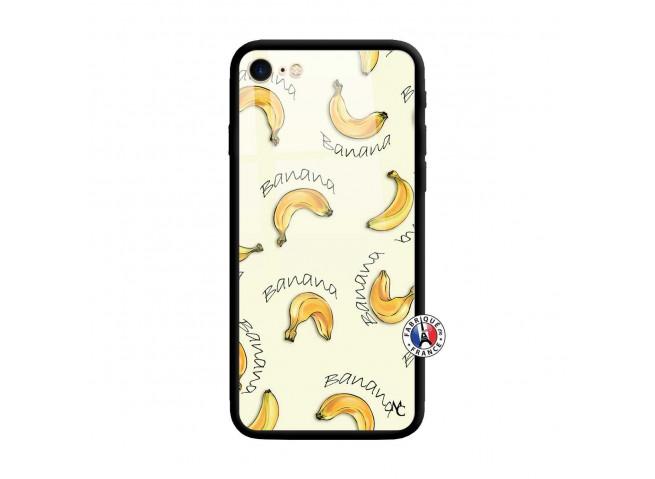 Coque iPhone 7/8 Sorbet Banana Split Verre