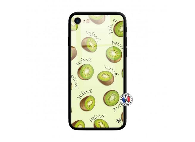 Coque iPhone 7/8 Sorbet Kiwi Verre