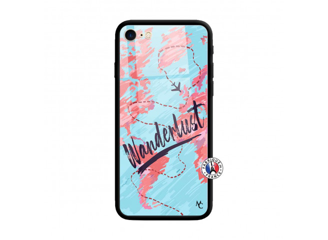 Coque iPhone 7/8 Wanderlust Verre Trempe