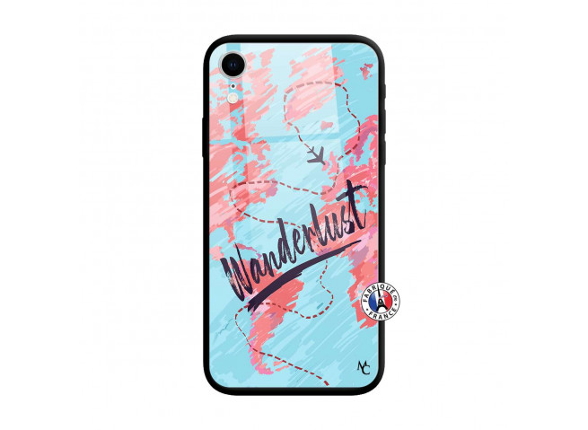 Coque iPhone XR Wanderlust Verre Trempe