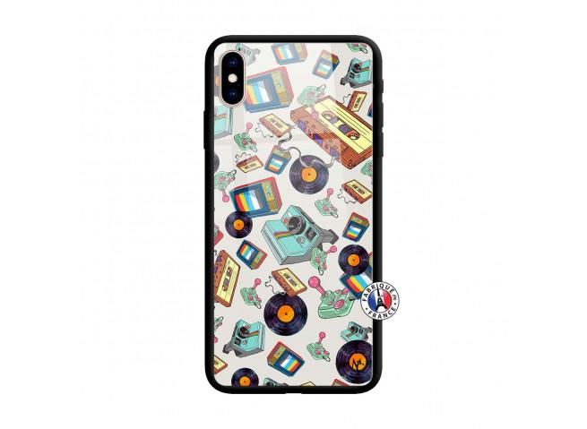 Coque iPhone XS MAX Mock Up Verre Trempe