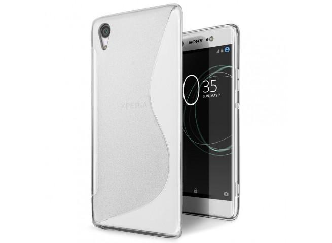 Coque Sony Xperia XA1 Silicone Grip-Translucide