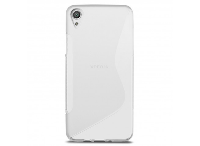 Coque Sony Xperia X Performance Silicone Grip-Translucide