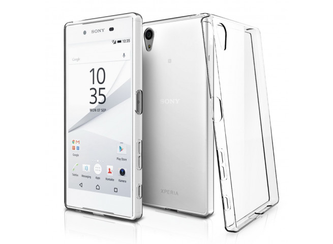 Coque Sony Xperia Z5 Premium Clear Flex