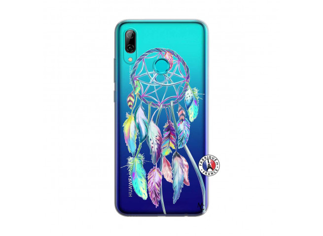 Coque Huawei P Smart 2019 Blue Painted Dreamcatcher
