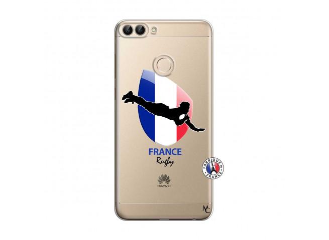 Coque Huawei P Smart Coupe du Monde de Rugby-France