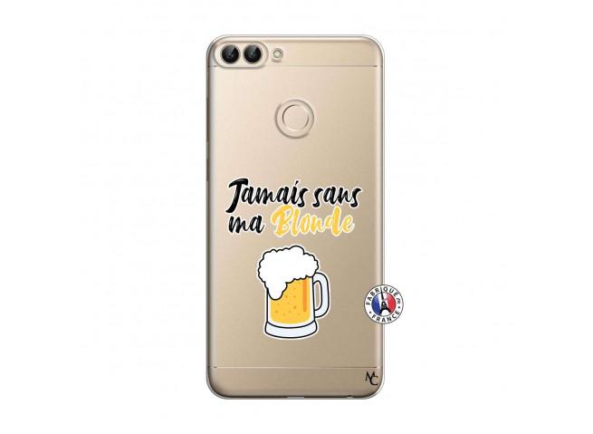 Coque Huawei P Smart Jamais Sans Ma Blonde