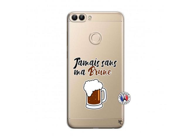 Coque Huawei P Smart Jamais Sans Ma Brune