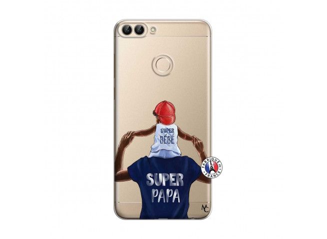 Coque Huawei P Smart Papa Super Heros