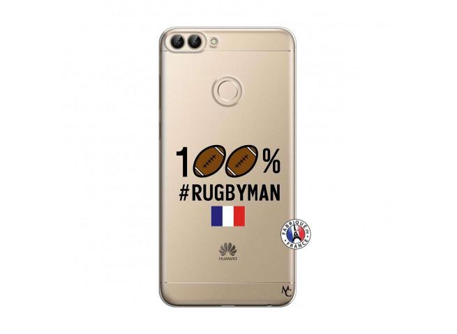 Coque Huawei P Smart 100% Rugbyman