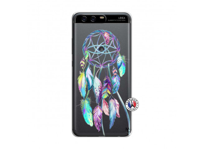 Coque Huawei P10 Blue Painted Dreamcatcher