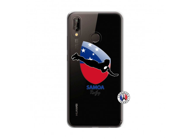 Coque Huawei P20 Lite Coupe du Monde Rugby-Samoa