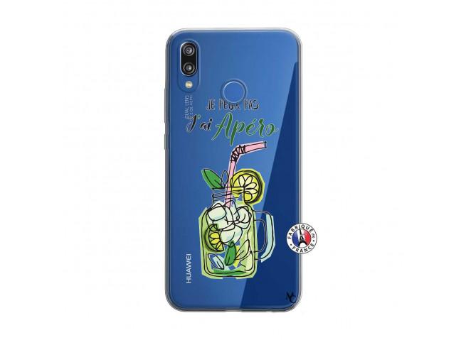 Coque Huawei P20 Lite Je peux pas J'ai Apéro