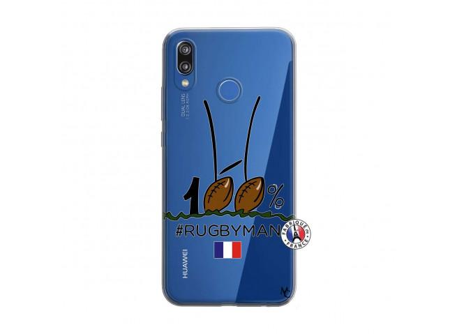 Coque Huawei P20 Lite 100 % Rugbyman Entre les Poteaux